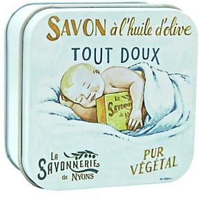 Savon Fleur de Coton 100 g et Boite Méta