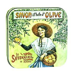 Savon Rose 100 g et Boite Métal Arlésien