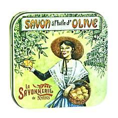 Savon Rose 100 g et Boite Métal Arlésien...