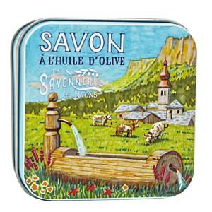 Savon Edelweiss 100 g et Boite Métal Les