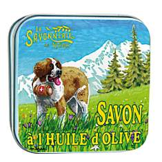 Savon Edelweiss 100 g et Boite Métal Le