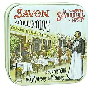 Savon Rose de Mai 100 g et Boite Métal L