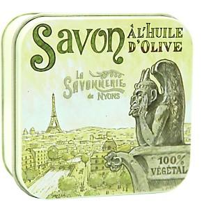 Savon Rose de Mai 100 g et Boite Métal G