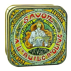 Savon Amande 100 g et Boite Métal Mucha
