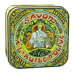 Savon Amande 100 g et Boite Métal Mucha ...