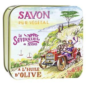 Savon Lavande 100 g et Boite Métal La Ba