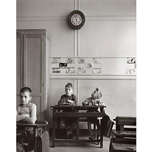 Le cadran scolaire, 1956 (Robert Doisneau)