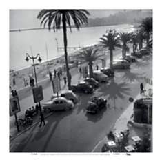 La Croisette, Cannes, 1952 (Willy Ronis)