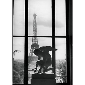 La Tour Eiffel, 1966 (Willy Ronis)
