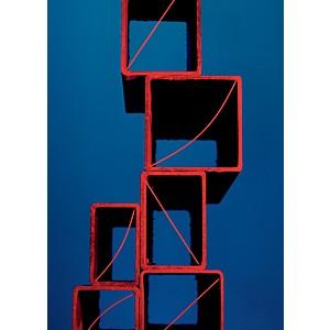 Pyramide de cubes de spaghettis (Mikaël Andersson)