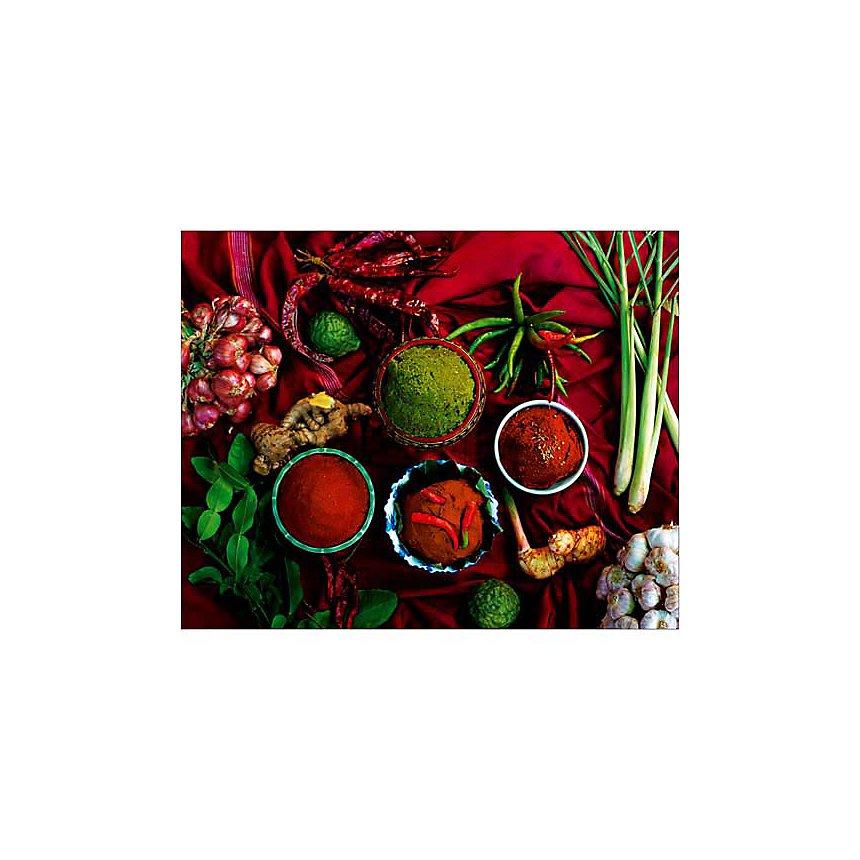Currys, Thaïlande, Jerry ALEXANDER, affiche 24x30 cm