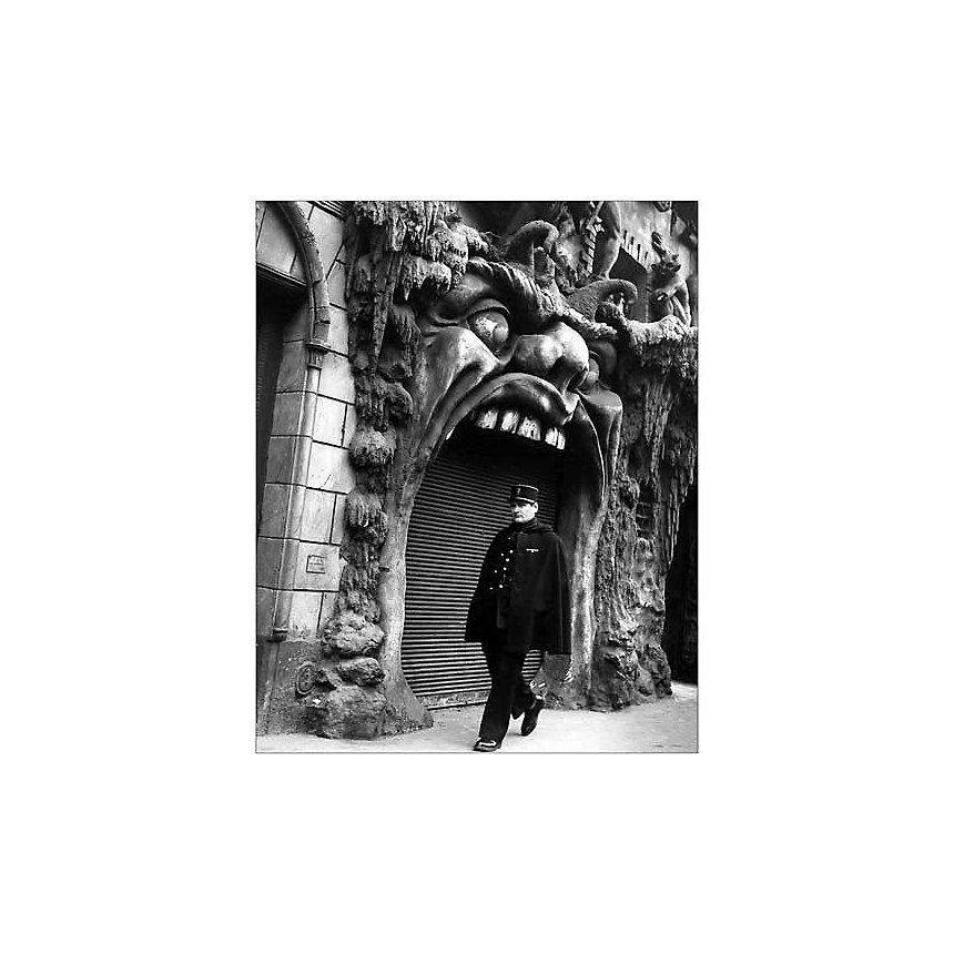 L'enfer, 1952 , Robert DOISNEAU (1912-1994), affiche 24x30 cm