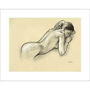Nu au bracelet, Francine VAN HOVE, affiche 24x30 cm