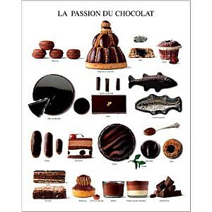 La passion du chocolat, Atelier Nouvelles Images, affiche 24x30 cm