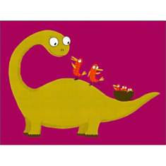 Joli dino / Lovely Dino, Nathalie CHOUX