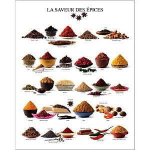 La saveur des épices, Atelier Nouvelles Images, affiche 24x30 cm