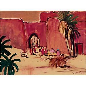 Ain Mlilia , Isabelle DEL PIANO, affiche 60x80 cm