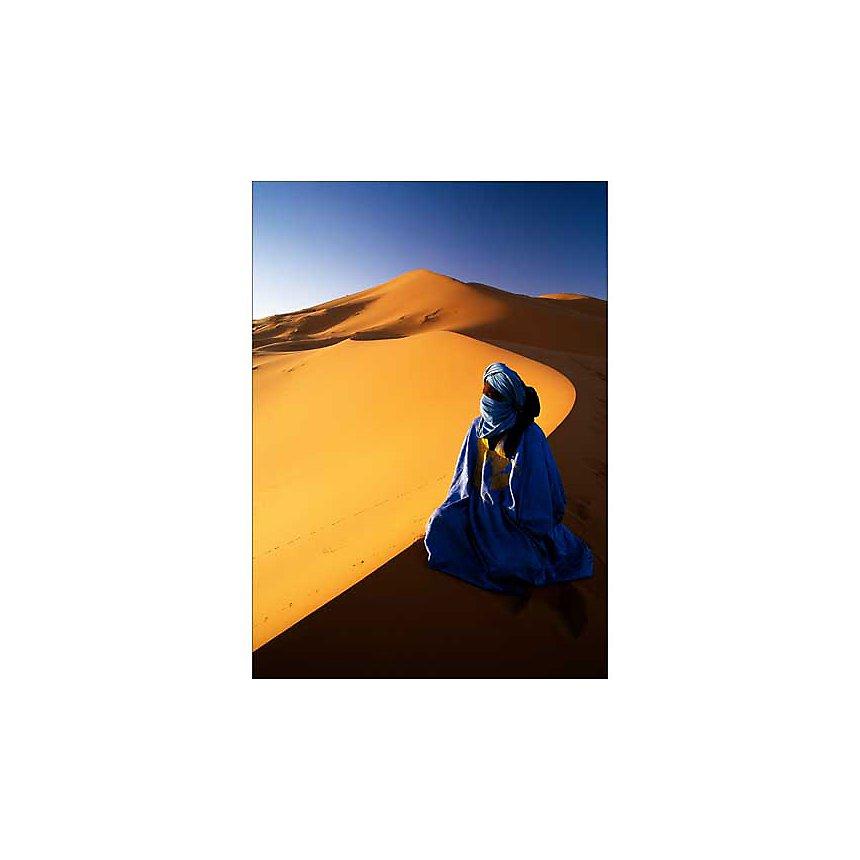 Erg Chebbi, Maroc , SIMEONE, affiche 50x70 cm