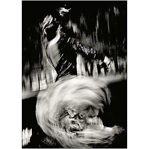 Flamenco , Jullette VALTIENDAS, affiche 50x70 cm