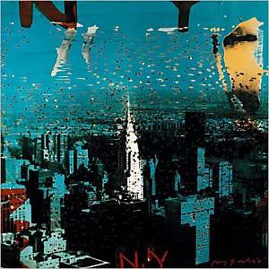 N.Y. , Tony SOULIE, affiche 70x70 cm
