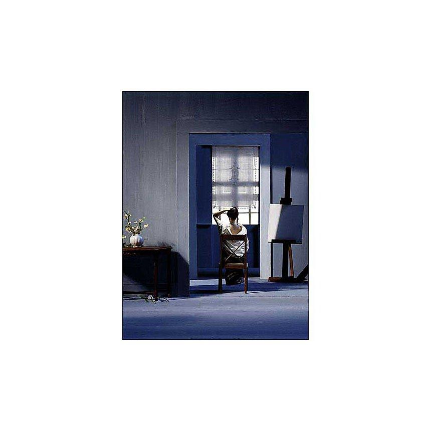 Lost in Meditation , Christophe CLARK, Virginie POUGNAUD, affiche 60x80 cm