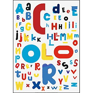 Color , Stan VAN STEENDAM, affiche 50x70 cm