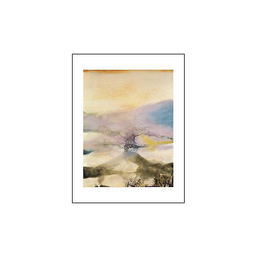 15 mai 1988, Zao WOU-KI, affiche 60x80 cm