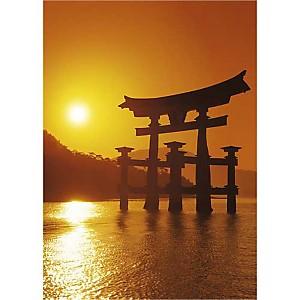 O-Torii Gate, Itsukushima Shrine, Japon, Paul THOMPSON, affiche 50x70 cm