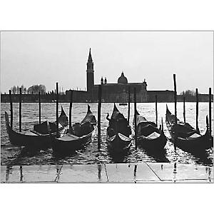 Gondoles, Venise, Italie, VEER, affiche 50x70 cm