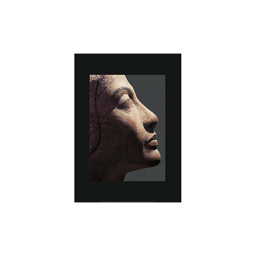 Néfertiti, Art égyptien, affiche 50x70 cm