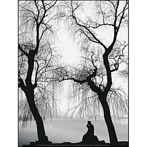 Lac Kunming, Palais d'Eté, Pékin, Chine, Yvan TRAVERT, affiche 30x40 cm