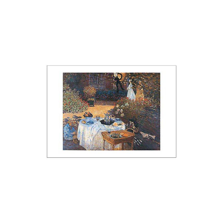 Le déjeuner, Claude MONET (1840-1926), affiche 50x70 cm