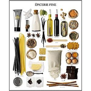 Epicerie fine, Atelier Nouvelles Images, affiche 40x50 cm