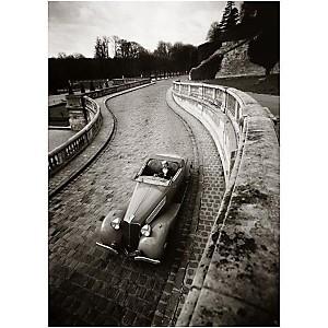 Cabriolet, France, 1936, Robert DOISNEAU (1912-1994), affiche 50x70 cm