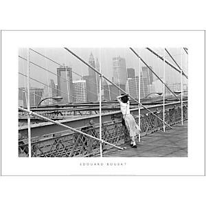 Pont de Brooklyn, New York, 1982, Edouard BOUBAT (1923-1999), affiche 50x70 cm