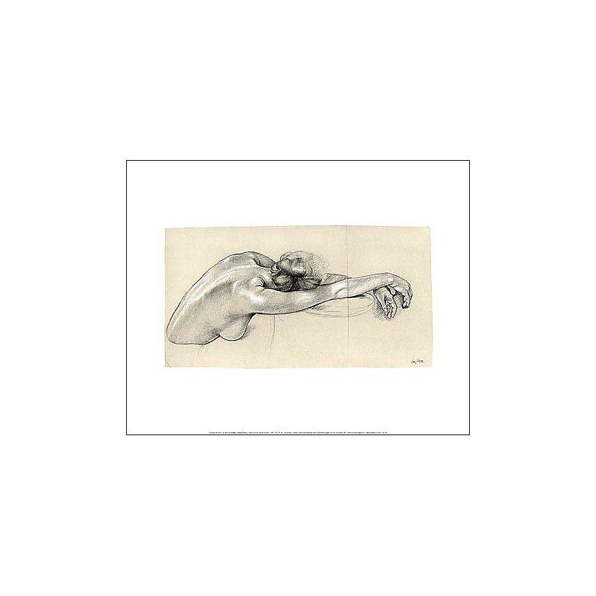 Le repos de Nadège, Francine VAN HOVE, affiche 40x50 cm