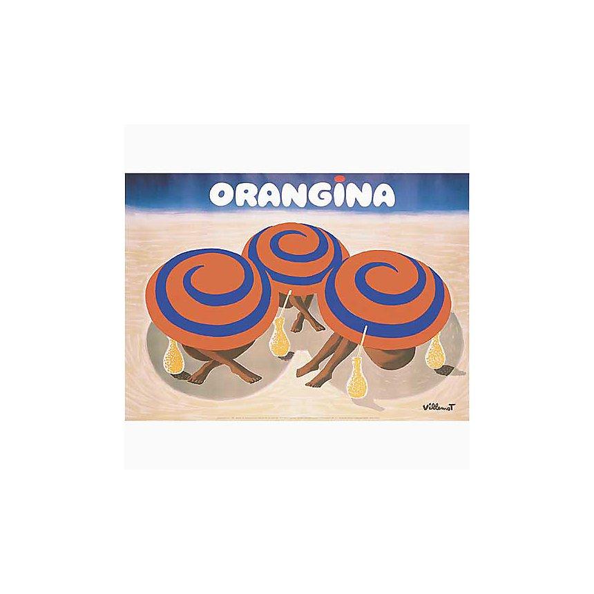 Orangina , VILLEMOT, affiche 50x70 cm