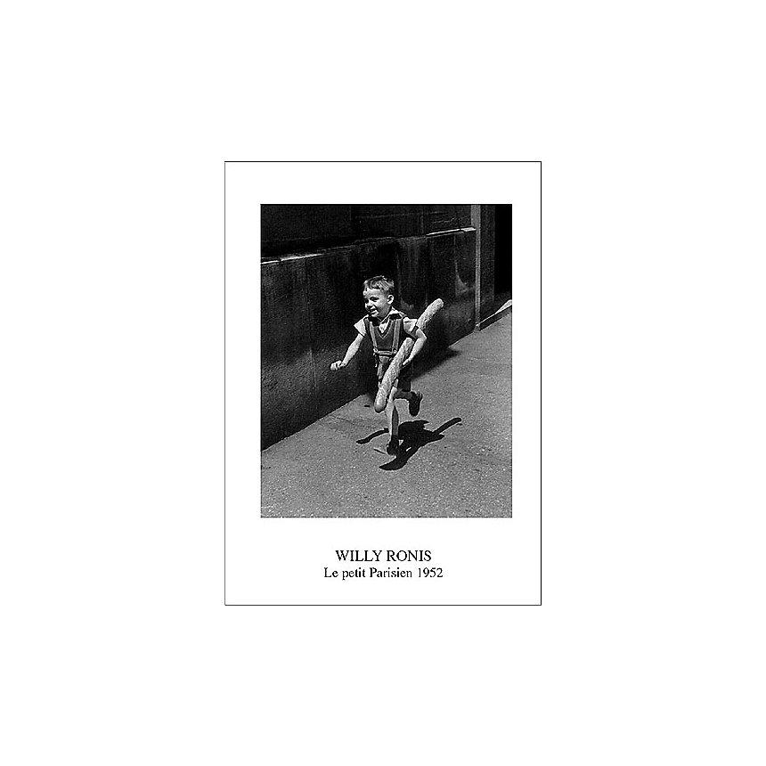 Le petit Parisien, Willy RONIS (1910-2009), affiche 50x70 cm