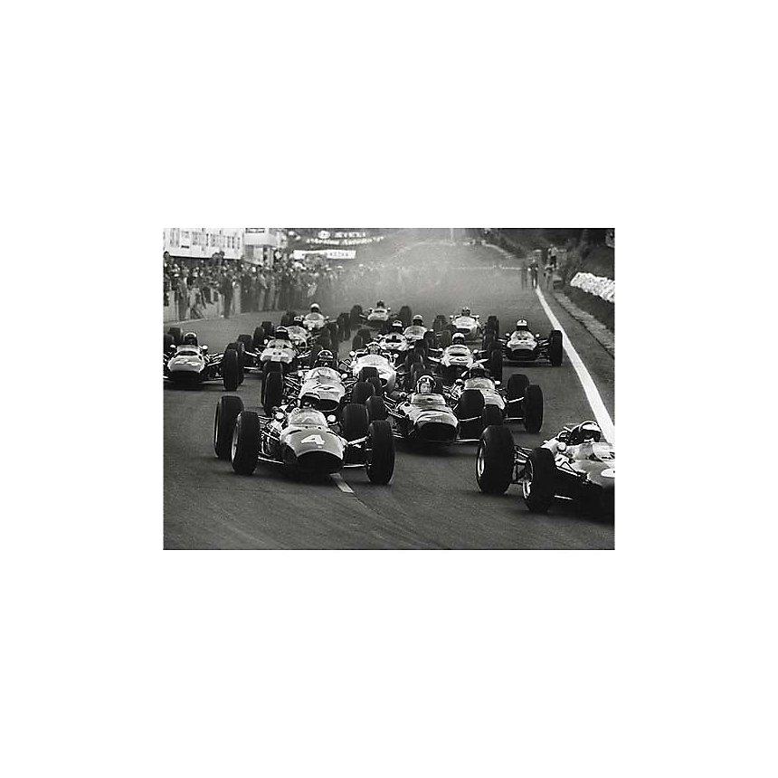 Grand Prix de France, Rainer W. SCHLEGELMILCH, affiche 50x70 cm