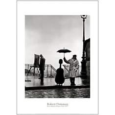 Un musicien sous la pluie, Maurice Baque...