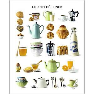 Le petit déjeuner, Atelier Nouvelles Images, affiche 40x50 cm
