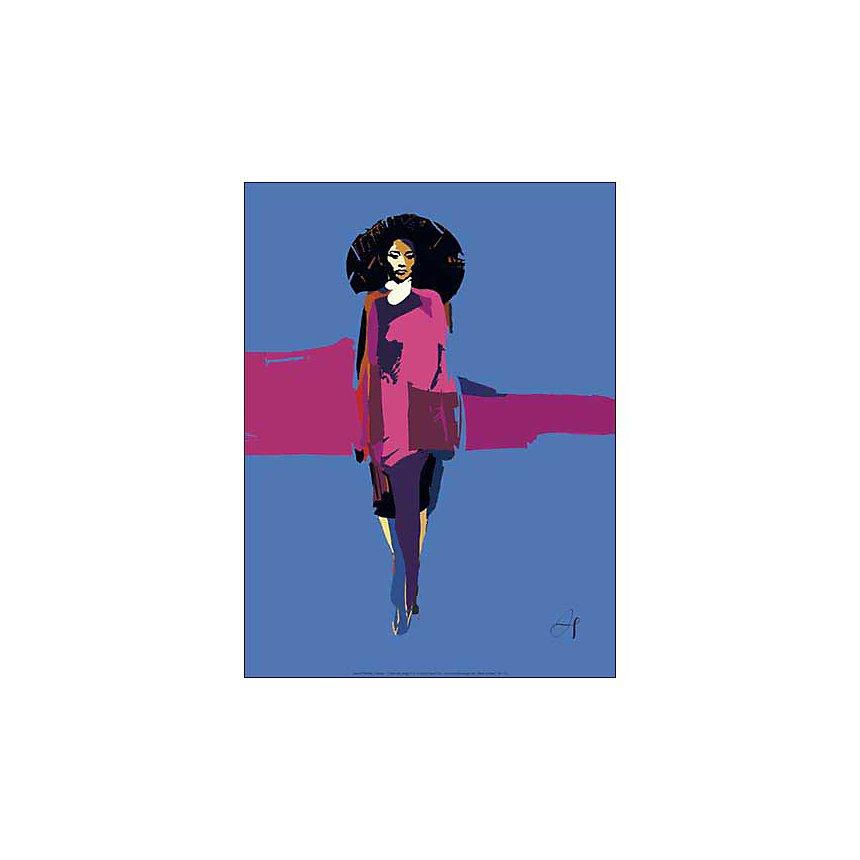 Fashion 1 , Arnaud TRACOL, affiche 30x40 cm