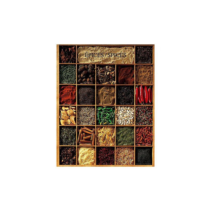 Epices, Atelier Nouvelles Images, affiche 40x50 cm