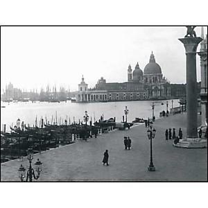 Santa Maria della Salute, Venise, Italie, Anonyme, affiche 30x40 cm