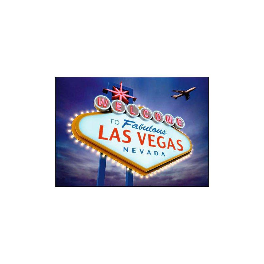 Welcome to Las Vegas , Matthias KULKA, affiche 50x70 cm