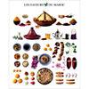Les saveurs du Maroc, Atelier Nouvelles Images, affiche 40x50 cm