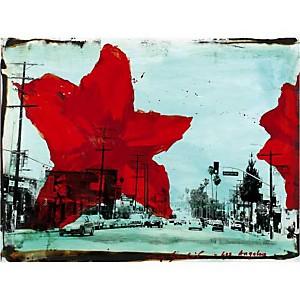 Los Angeles , Tony SOULIE, affiche 60x80 cm