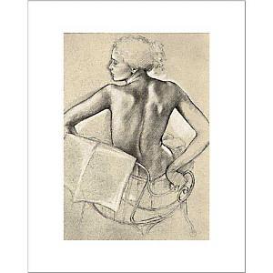 Etude pour ôte-toi de mon soleil , Francine VAN HOVE, affiche 40x50 cm