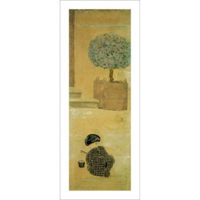 L'enfant au seau, Pierre BONNARD (1867-1947), affiche 50x100 cm