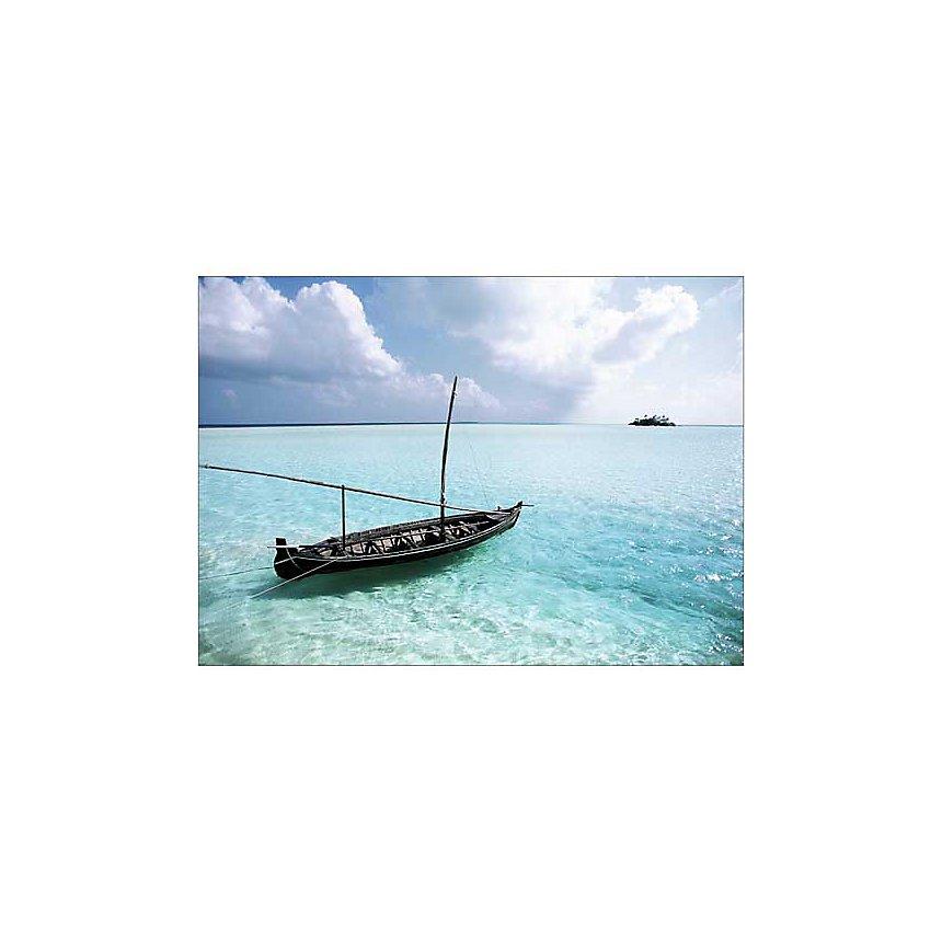 Maldives, WALLIS, affiche 50x70 cm